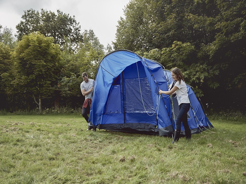 Packing Away a Tent